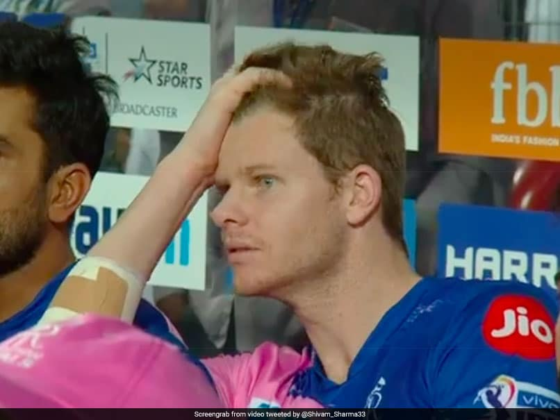 Watch: Steve Smith's Horror Reaction To Riyan Parag's Dramatic Dismissal