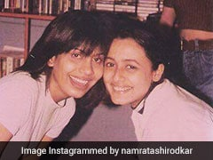 Look Closely At Namrata Shirodkar's Throwback Pic And You'll Get Full 90s Vibes