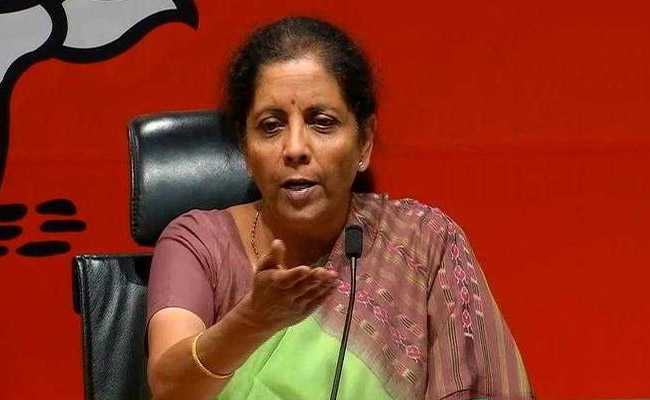 Congress Must Clarify Stand On Ram Temple Issue: Nirmala Sitharaman