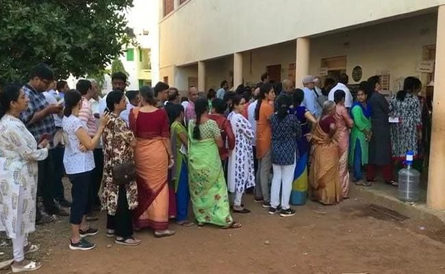 Over 64% Voting In Madhya Pradesh Till 6 PM, Say Officials
