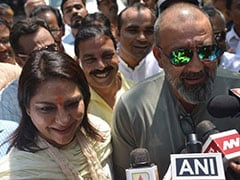 """Always With Her"": Sanjay Dutt On Sister Priya Dutt, Congress Candidate"