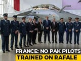 Video : French Government Denies Pak Pilots Were Trained On Rafale Jets