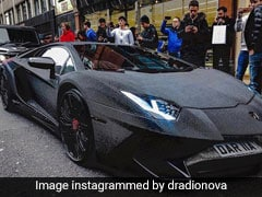 Bling It On: Instagram Model Covers Lamborghini In 2-Million Crystals