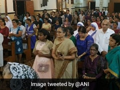 Happy Easter 2019: Midnight Mass Prayers Mark Easter Celebrations Across India In Pictures