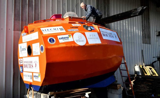 Frenchman In A Barrel Closing In On Trans-Atlantic Crossing