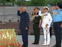 President Pays Homage To Martyrs At National War Memorial In Maiden Visit