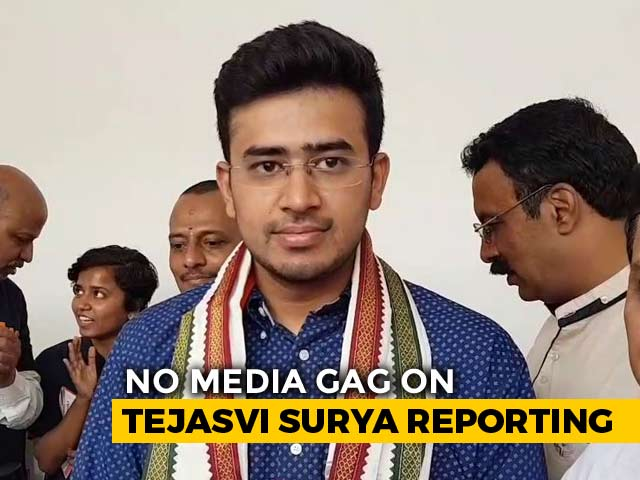 Video : High Court Sets Aside Gag Order In Defamation Case By BJP's Tejasvi Surya