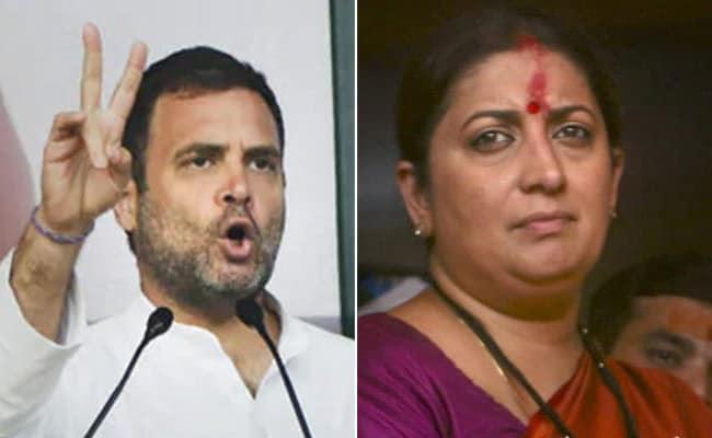 क्या अमेठी में कांग्रेस अध्यक्ष राहुल गांधी को 'वॉक ओवर' मिल गया है? देखें- आंकड़े क्या कहते हैं