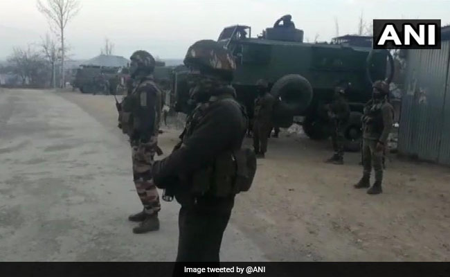 Terrorist Killed In Encounter In Jammu And Kashmir's Ganderbal District