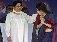 He Couldn't Even Make Dimple Yadav Win: Mayawati Quits Akhilesh Yadav