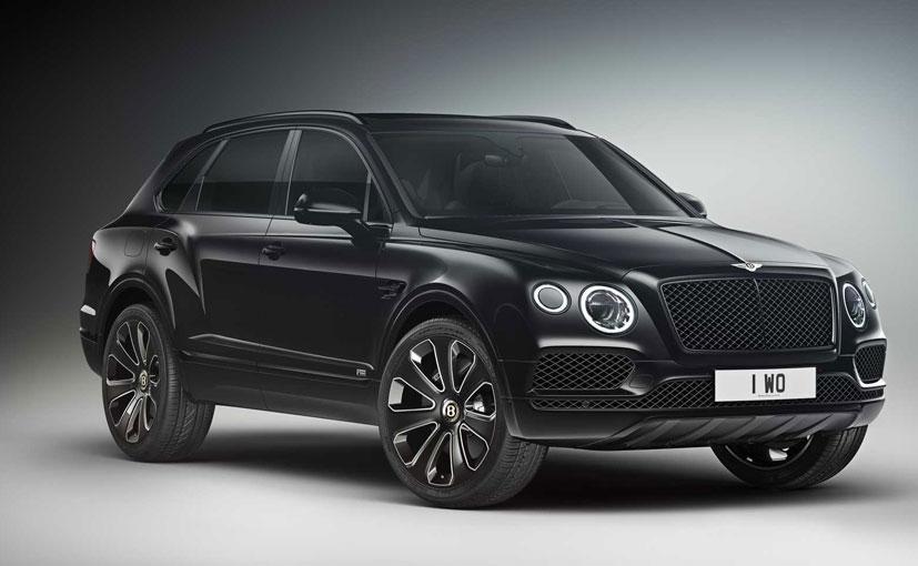 The Bentley Bentayga V8 Design Series is based on the standard model.