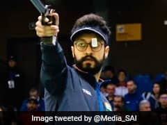 ஐஎஸ்எஸ்எஃப் உலகக் கோப்பை: தங்கம் வென்று ஒலிம்பிக் தகுதி பெற்ற அபிஷேக் வர்மா