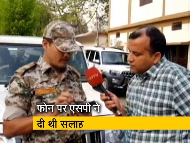 Videos : बीजेपी एमएलए ने एसपी की सलाह की अनदेखी की थी