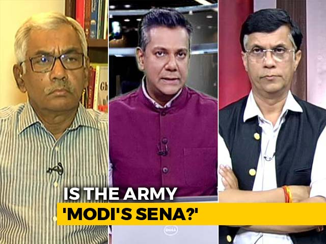 "Video : Controversy Over Yogi Adityanath's ""Modi Ji Ki Sena"" Comments"