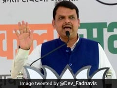 """Ashok Chavan Using Raj Thackeray On Rent"", Says Devendra Fadnavis"