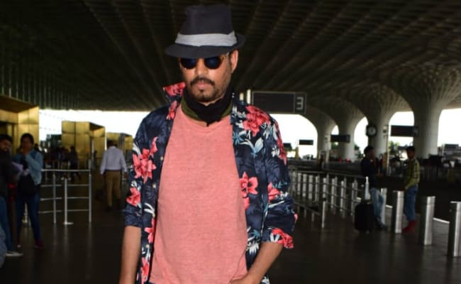 Irrfan Khan Spotted At Mumbai Airport. He Wasn't Avoiding The Paps This Time