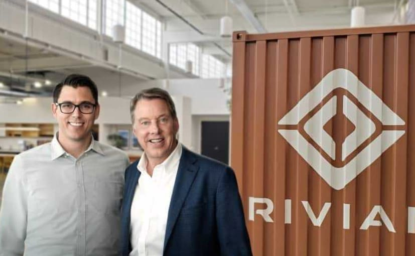 RJ Scaringe, Rivian founder and CEO and Bill Ford, executive chairman, Ford Motor Company