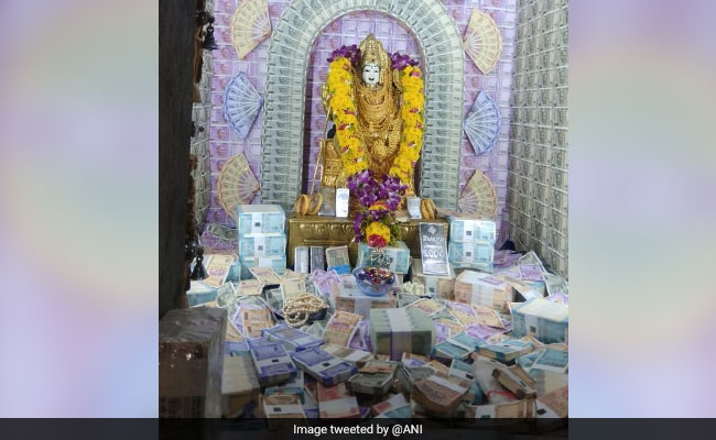 Coimbatore Temple Idol Decorated With Currency, Diamonds Worth Rs 5 Crore