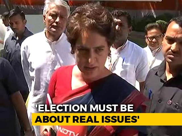 Video : Priyanka Gandhi Rates Congress Manifesto, And Tweets An Appeal