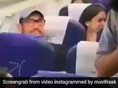 Aamir Khan ,Aamir Khan Economy Class ,Aamir Khan Viral Video,आमिर खान,इकोनॉमी क्लास,हवाई सफर,Video,इंटरनेट,कोहराम