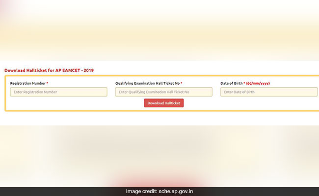 eamcet 2019, ap eamcet 2019, eamcet hall tickets, ap eamcet hall tickets