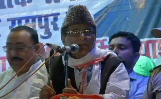 'Treated As Anti-National, Terrorist': Azam Khan Gets Emotional At Rally