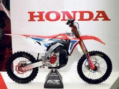 Honda Concept Electric Motocross Bike Unveiled