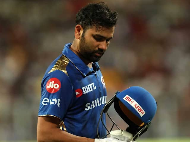 KKR vs MI: Rohit Sharma Fined For Breach Of Code Of Conduct