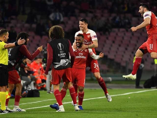 Arsenal Dump Out Carlo Ancelottis Napoli To Reach Europa League Last Four