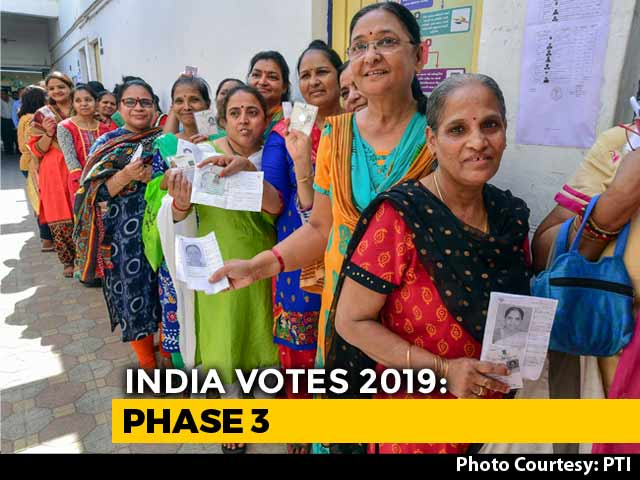 Video : Elections 2019: 66% Voting In Phase 3