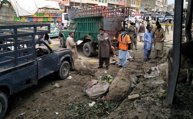At least 20 killed in market blast in Pakistani city of Quetta