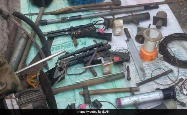 Bomb-Making Material, Weapons Seized In Pune, One Arrested