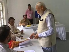 """Voter ID More Powerful Than IED,"" Says PM After Voting In Ahmedabad"