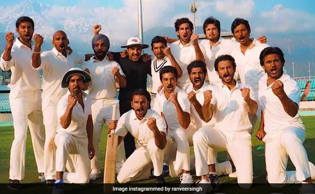 '83 First Look: Ranveer Singh Shares Pic Along With The Film's Cast