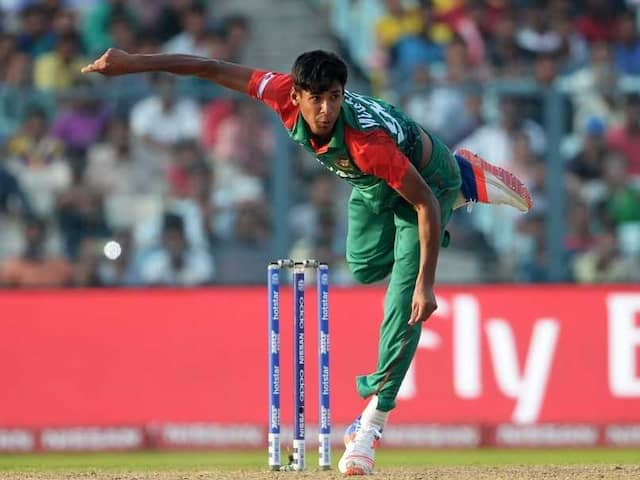 World Cup Worry For Bangladesh As Mustafizur Rahman Suffers Ankle Injury