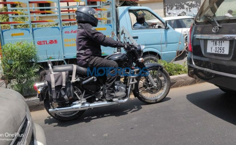 2020 Royal Enfield Classic Spotted Testing With Accessories