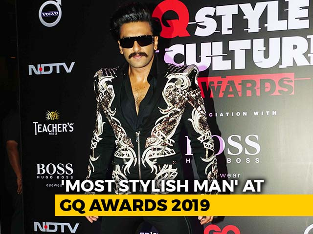 Video : Ranveer Singh Is GQ's 'Most Stylish Man'