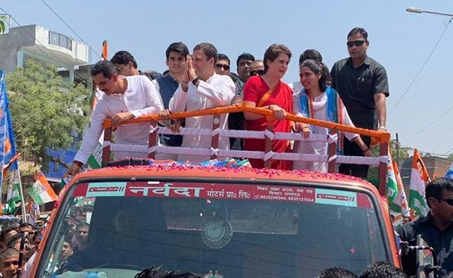 राहुल गांधी ने अमेठी से भरा पर्चा, मां सोनिया गांधी, बहन प्रियंका और जीजा रॉबर्ट वाड्रा भी साथ