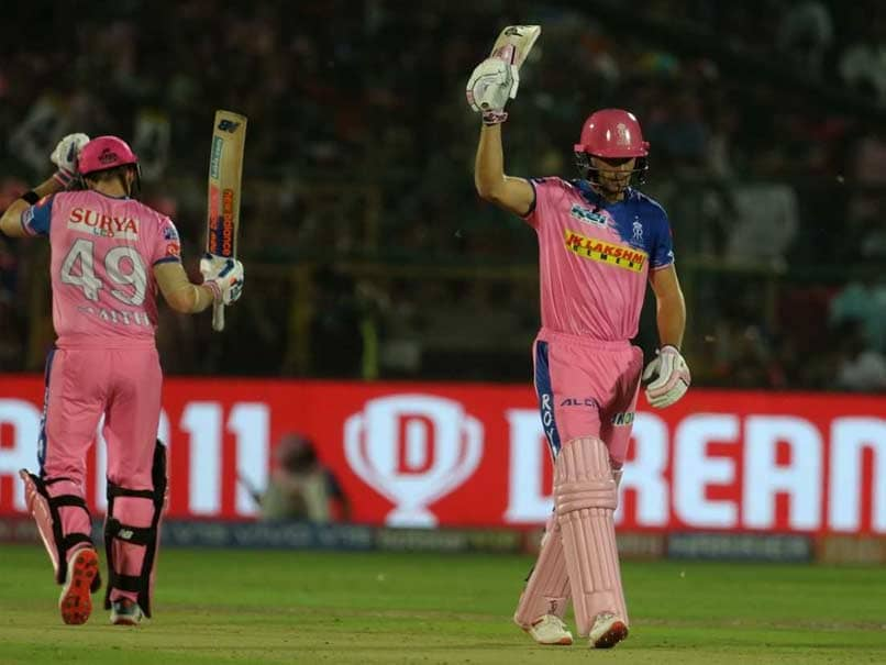 Jos Buttler, Shreyas Gopal Script Rajasthan Royals First Win Of IPL 2019