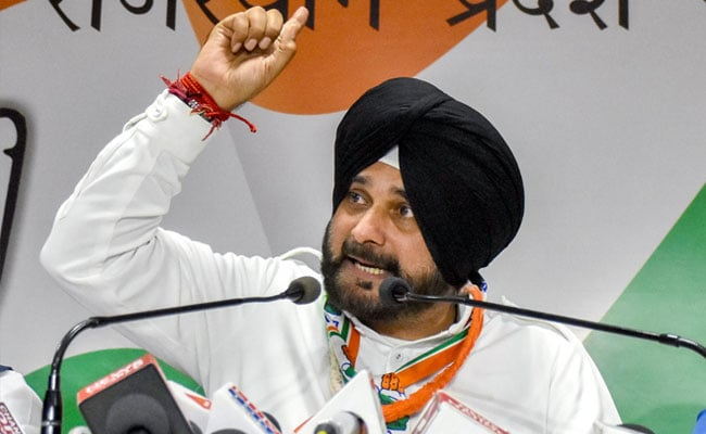Ambani, Adani's 'Business Development Manager': Navjot Sidhu Attacks PM