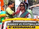 """Video : Krishnanagar Cliffhanger: Trinamool """"Centre Forward"""" vs BJP """"Goalkeeper"""""""