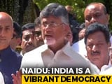 "Video : Chandrababu Naidu In Delhi, Says Poll Body Works On PM's ""Instructions"""