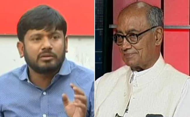General Election 2019: दिग्विजय सिंह को मिला कन्हैया कुमार का साथ, कांग्रेस नेता के लिए भोपाल में दो दिन करेंगे प्रचार, देखें VIDEO