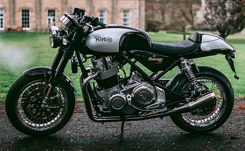 Only 77 limited edition Norton-Breitling Sport motorcycles will be built