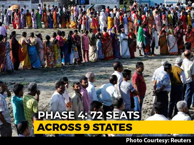 Video : 72 Seats In 9 States Vote Today, BJP's Hindi Heartland Test