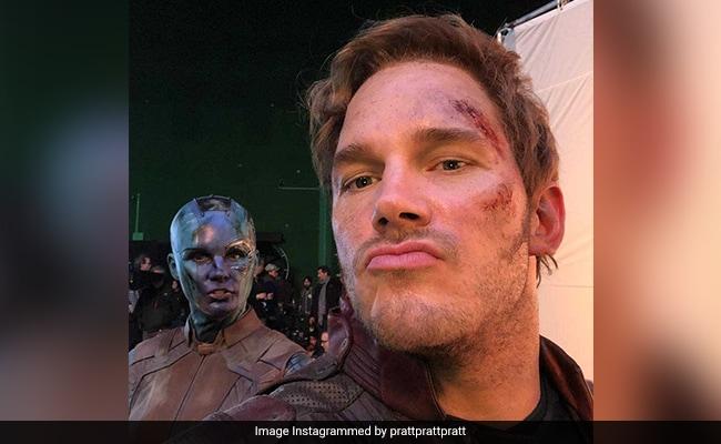 Avengers: Endgame Stars At Work In 'Really Illegal' Video Chris Pratt Filmed On Set