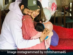 Watch: Rohit Sharma's Wife Ritika Sajdeh Gives 3-Month-Old Daughter Spanish Lessons