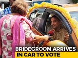 Video: In Decorated Car, Bengal Groom Drives 20 Km To Vote Day After Wedding
