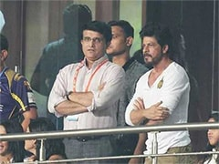 Shah Rukh Khan Posts Special Message For Sourav Ganguly After KKR
