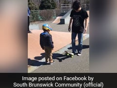 In Touching Video, Teens Teach Autistic Boy How To Skate On His Birthday